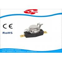 Buy cheap Bimetal Thermal Cutout Snap Disc Thermostat Switch Bakelite Temperature Protector Switch from wholesalers