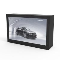 """Quality 49"""" 3D 450cd/m2 1920×1080 Transparent LCD Display Cabinet for sale"""