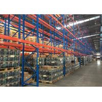 Quality 4  Tier Multi Level Pallet Storage Racks Adjusted Beams For Archiving Storage for sale