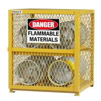 Quality Explosion Proof Chemical Storage Cabinets With Adjustable Shelf For Gas Cylinders cage for sale