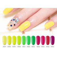 Quality Professional Healthy Soak Off Gel Fingernail Polish For Nail Beauty Non Toxic Smell Free for sale