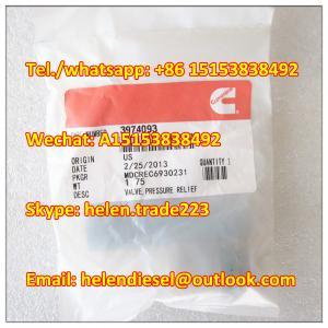 Quality CUMMINS original 3974093 Pressure Relief Valve , BOSCH number 1110010028 , 1 110 010 028 genuine and new for sale
