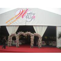Quality Mobile Temporary Rental Wedding Canopy Aluminum Fireproof  Marquees Guangzhou Factory for sale