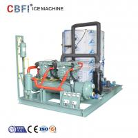 Quality 20 Tons Daily Capacity Flake Ice Machine / Ice Making Machine Easy Operation for sale