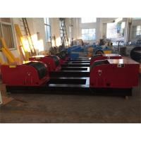 Quality 100T Capacity Tank Turning Rolls With 800 - 5000 mm Diameter Working Range for sale
