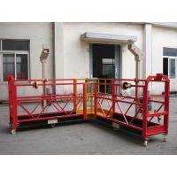 Quality 90 Degree Steel Suspended Access Platform Construction Elevator for sale
