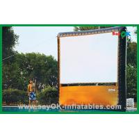 Quality Portable Home Inflatable Movie Screen / Projection Display Custom Inflatables for sale
