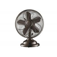 Quality 12 Inch Vintage Electric Fan With Switch Control 3 Aluminium Blade 60Hz for sale