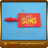 Quality red rubber bulk luggage tags for sale
