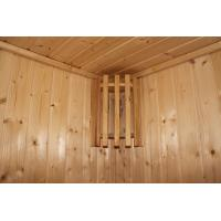 Quality Home / Garden Traditional Sauna Cabins , Square Cedar Sauna Rooms for sale