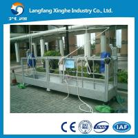 Quality aluminium alloy / hot galvanized suspended scaffolding / suspending platform / scaffolding platform for sale