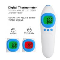 Health Care Products Forehead Fever Thermometer , Digital Temperature Thermometer for sale