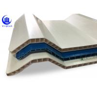 Quality Pvc Twin Wall Solid Hard Hollow Core Plastic Sheets 10Mm Thickness for sale