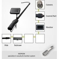 Quality telescopic pile camera for under car inspection with video recording function for sale