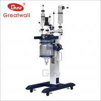 China 10L/20L/50L elevating glass reactor China supplier on sale