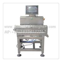 Quality soybean meal package check weigher,weight checking machine,1200*550*1330mm for sale