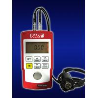 Quality 4 digits LCD Handheld Ultrasonic Thickness Gauge SA40+ with normal and multiple echo(MEC)  mode in red or blue color for sale