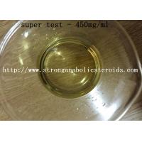 Quality Pharmaceutical Synthetic Steroid Injection Muscle Growth Super Testosterone 450 mg/ml for sale
