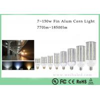 China 38W 120Lm / w E40 LED Corn Light Aluminum Heatsink SMD5630 With Clear / Milky Cover on sale
