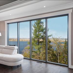 China Fabricated aluminium Glass fixed Awning Windows and doors on sale