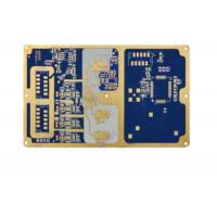 Quality 6 Layer Pcb Board Prototype Customized Blue Soldermask Rogers Circuit Board for sale
