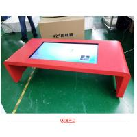 Quality Horizontal Interactive Multitouch Table Support High Resolution Videos for sale