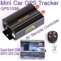 Quality GPS103B Remote Control Car Vehicle Truck GPS Tracker Real Time GPS Tracking Locator System W/ Cut-off oil & power by SMS for sale