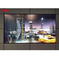 Quality High Contrast LCD Video Wall Display / Multi Screen Display Wall 1920x1080p for sale
