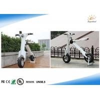 Quality High Speed Folding Electric Scooter 30-35 Km Running Range With Big Led Lamp for sale