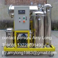China ZJD used vegetable oil purifier, cooking oil purifier, vegetable oil recycling, cooking oil refine on sale