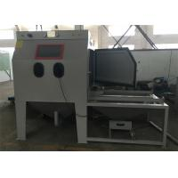 Quality Trolley Cart / Turntable Suction Blast Cabinet 1000mm * 1000mm * 800mm Working Chamber for sale