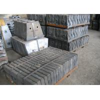 Quality Checked by UT Test Cr-Mo Alloy Steel Mill Liners Mine Mill / Cement Mill / Coal Mill Hardness HRC33-42 Shot Blasting for sale