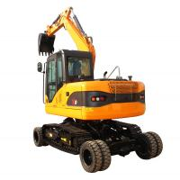 professional manufacture wheel excavator vs track and two fuctions diggers for sale with high quality for sale