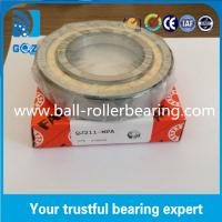 Quality Chrome Steel Angular Contact Ball Bearing , Four Point Ball Bearing QJ211 MPA for sale
