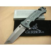 Quality Gerber knife X01 (Gray) combat knife for sale