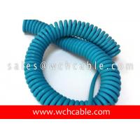Quality UL20937 Light Duty Electronic Interconnection Spring Coiled Cable 80C 30V for sale