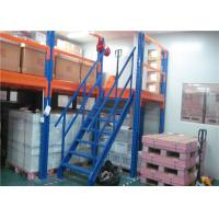 Quality Warehouse Storage Mezzanine Floor Racking , Industrial Mezzanine Systems Loading Capacity 300-1000KG/㎡ for sale