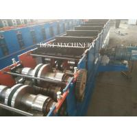 Buy Hydraulic Cutting Metal Cold Hat Purlin Roll Forming Machine , Material at wholesale prices