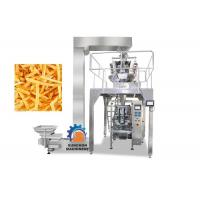China High Efficiency Vertical Automatic Packaging Machine For Popcorn , Snack Foods 1000ML Volume on sale