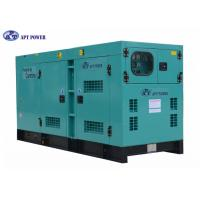 Quality Denyo Type Deisgn Cummins Diesel Generator for Mine , Rate Output 275kVA for sale