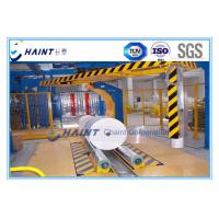 Quality Paper Mill Roll Stretch Wrapping Machine , Stretch Wrap Systems Custom Model for sale