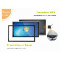 China infrared touch screen monitor lcd led smart tv all in one touch pc on sale