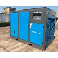 Quality 185Kw 250Hp Screw Air Compressor Rotary Vane Oil Lubricated Direct Driven for sale