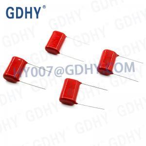 Quality 5% 1.5UF 400V Polyester Film Capacitor C21 155J400V for sale