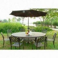 Quality Oval-shaped Table, Measures 260 x 180 x 74cm, Made of Aluminum for sale