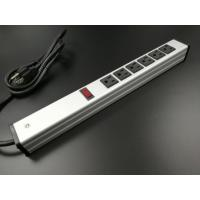 Buy Universal Mountable Six Socket Extension Cord Power Strip Dustproof Aluminum at wholesale prices