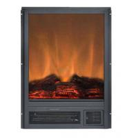 Quality 15 built-in flat front electric stove insert electric fireplace heater log LED flame effect GM2000-15 remote control for sale