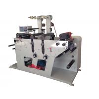 Quality Rotary die cutting machine max width 320mm and with slitting rewinding function or sheeting for sale