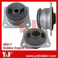 Quality Rubber Hyundai Excavator Engine Mount Excavator Components / Heavy Equipment Spare Parts for sale