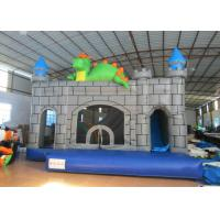 Quality Dragon Design Inflatable Jump House Waterproof Digital Printing 6 X 6m For Amusement Park for sale